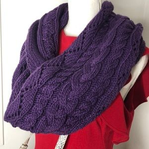 Michael Michael Kors Cable Knit Infinity Scarf